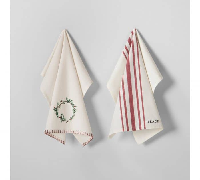 Hearth & Hand with Magnolia Wreath Kitchen Towel Set
