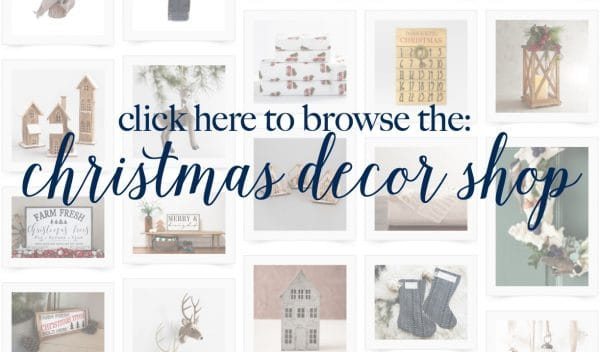 It's so fun to change out the Christmas decor a little bit every year! Shop fun, cool finds, here