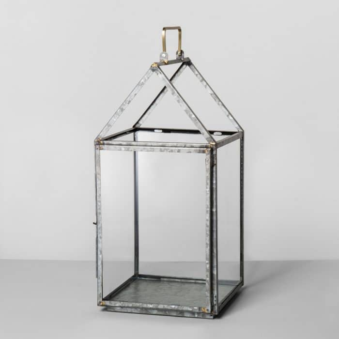 Hearth & Hand with Magnolia Large Galvanized Lantern