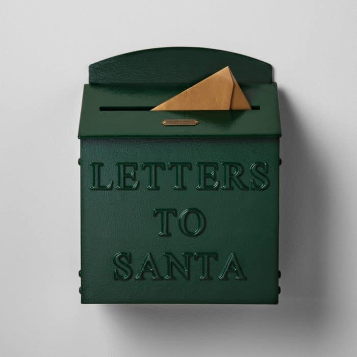 Hearth & Hand with Magnolia Mailbox Letters to Santa