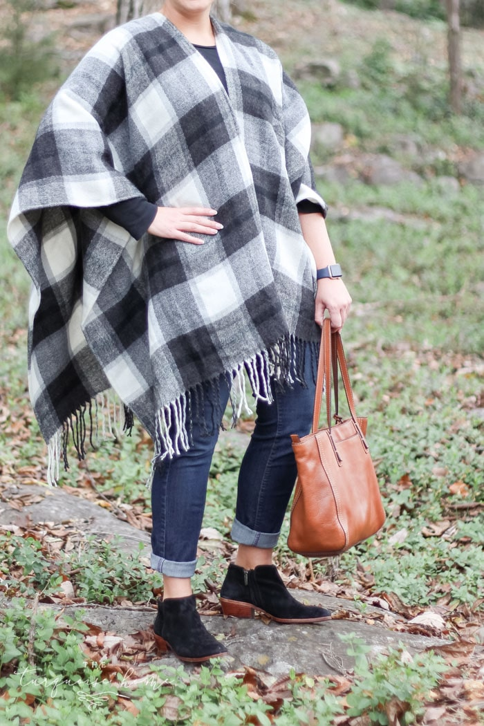A farmhouse lover's dream outfit for fall and winter. LOVE these closet staples!
