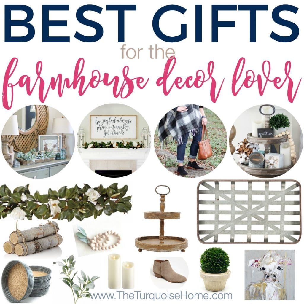 Do you know someone who loves farmhouse decor and you want to buy them the perfect gift this year? Look no further! I have everything you could possibly want for your farmhouse girl right here in one spot.