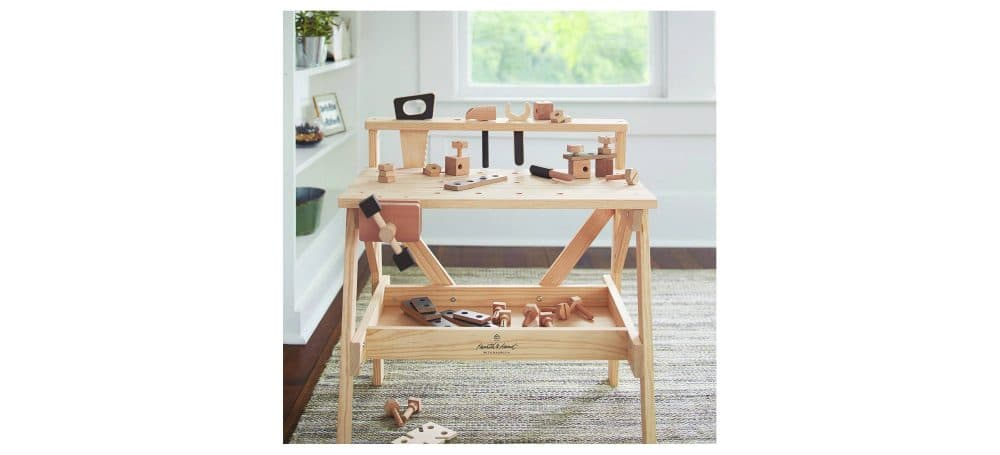 Hearth & Hand with Magnolia Wooden Toy Toolbench