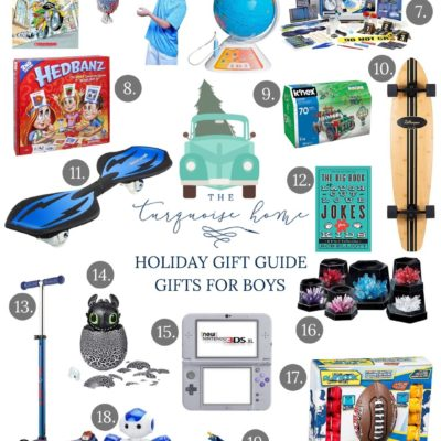 Holiday Gift Guide for Boys! - love these great ideas for girls of all ages!