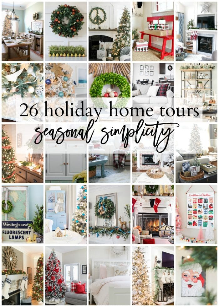 Holiday Seasonal Simplicity Home Tours