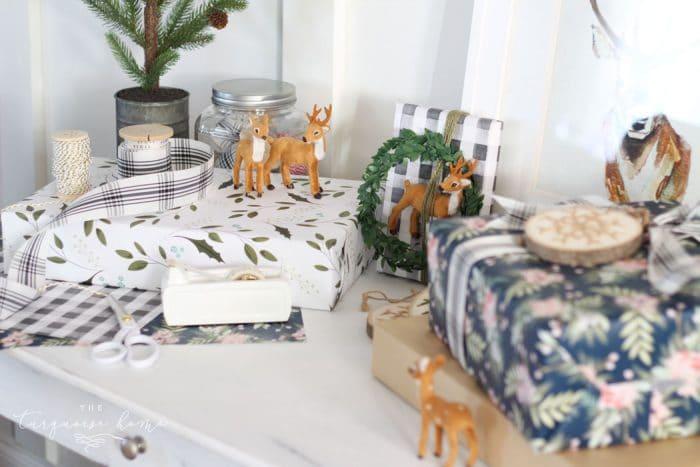 Christmas Gift Wrapping Station.Christmas Gift Wrapping Station Simple Gift Wrapping Tips