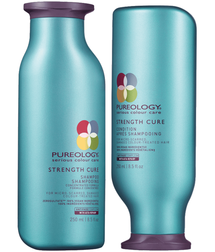 Favorite Things 2017: Pureology Strength Cure Shampoo and Conditioner