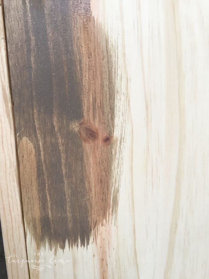 Weathered Stain from Old Barn Milk Paint