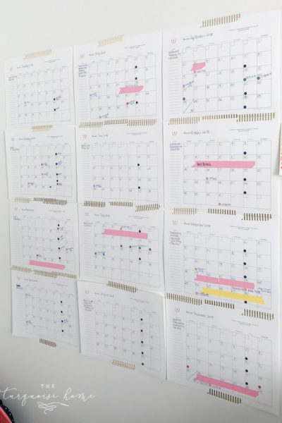 How to Plan Your Whole Year at Once