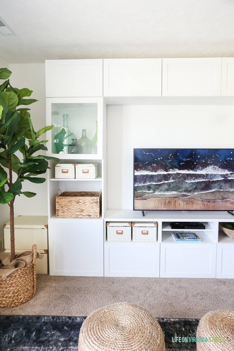 Make your TV look like art! No need to cover it up.