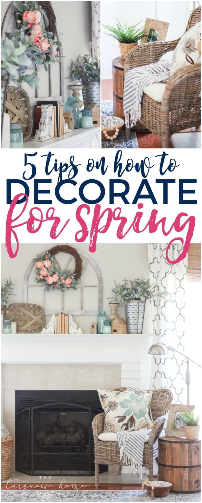 5 Tips on How to Decorate for Spring