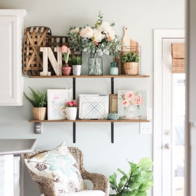 Spring Home Tour 2018 | Farmhouse Spring Decorating Ideas