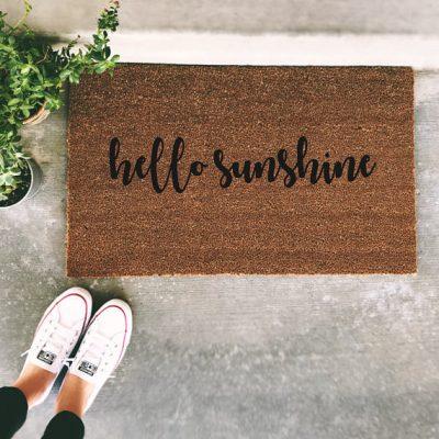 Fun Spring Doormats