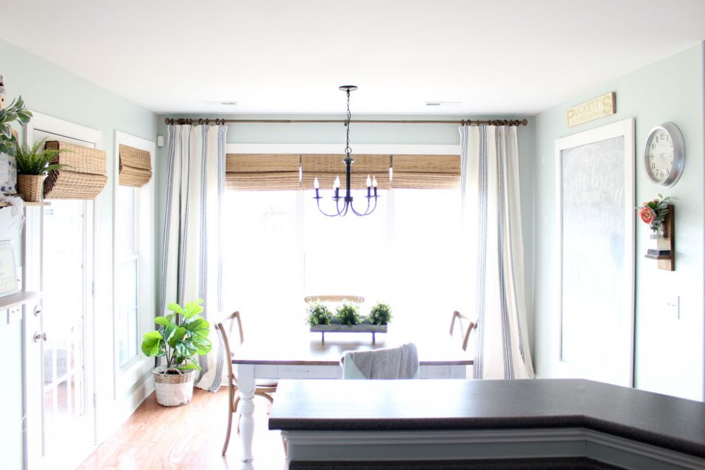 How to Hang Your Curtains High and Wide | Cheap Curtain Ideas | The best way to hang your curtains!