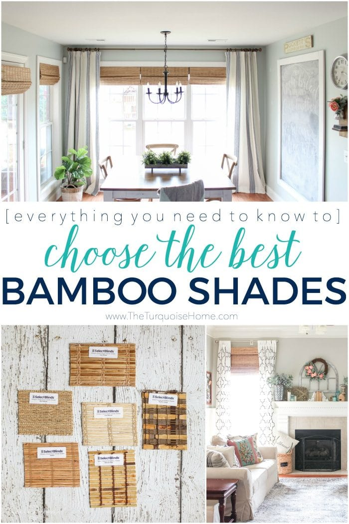 How to Choose the Best Bamboo Shades - click here for all the details!!