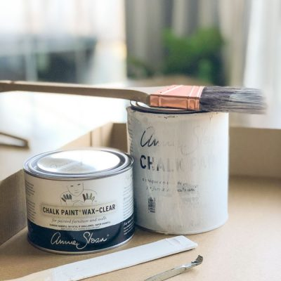 How to Use Annie Sloan Chalk Paint® {a tutorial for beginners}