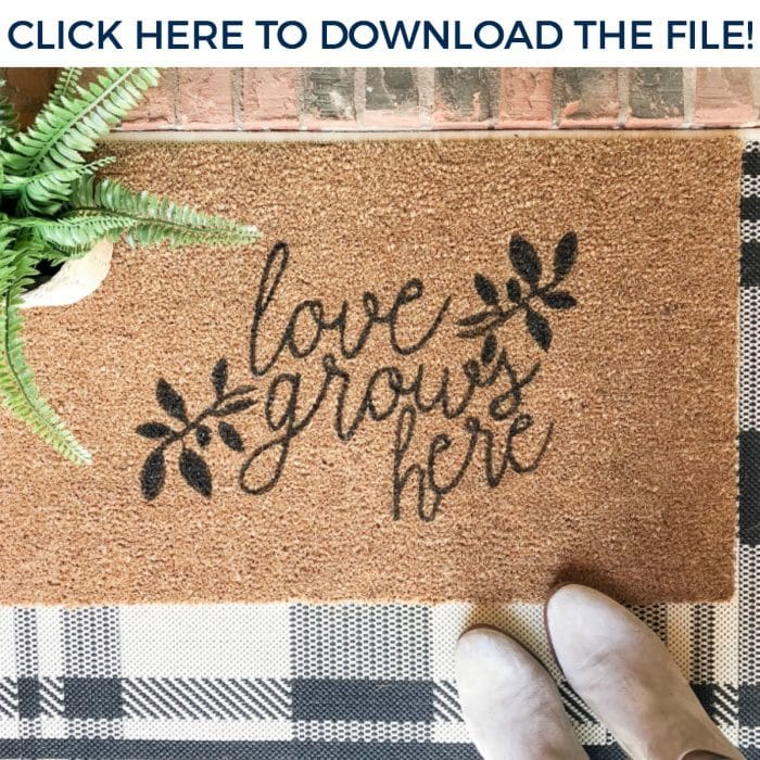 "Download the ""Love Grows Here"" studio file!"