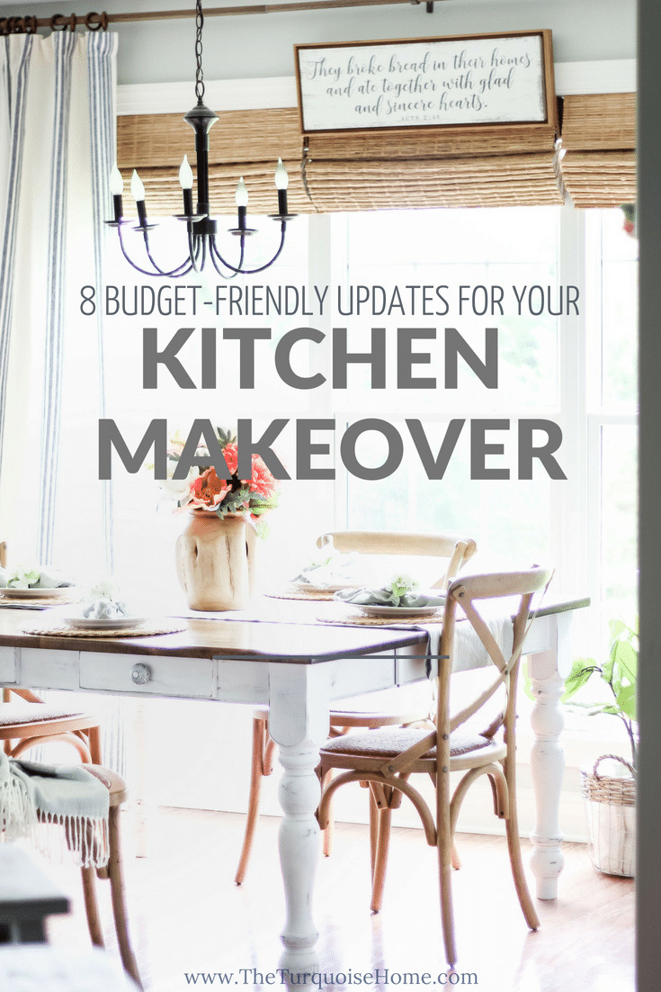 Favorite Budget-Friendly Updates you can make for a Kitchen Makeover! | Kitchen Before and After | Kitchen Makeover Ideas | DIY Kitchen Makeover | Kitchen Remodel Before and After