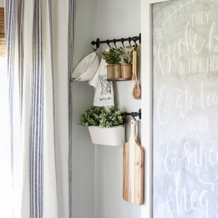 IKEA Fintorp Hanging System in the Kitchen
