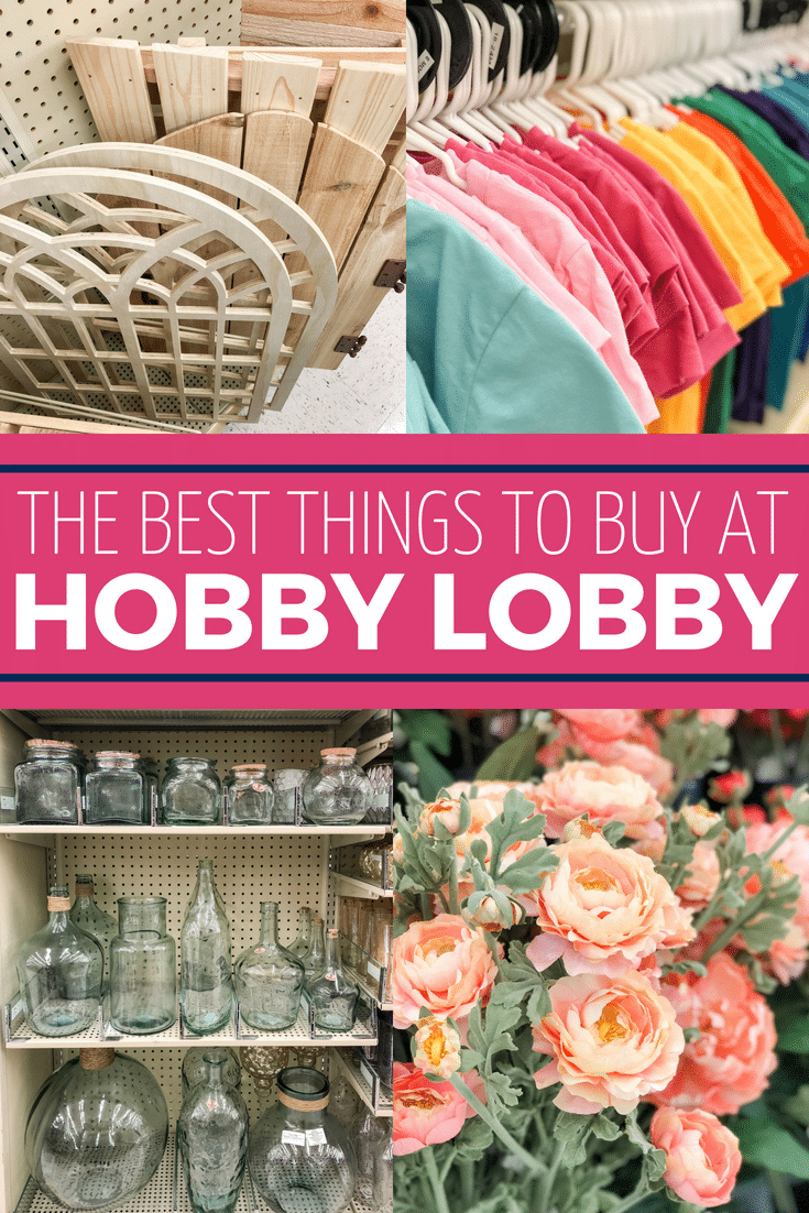 Find the BEST things to buy at Hobby Lobby right here!