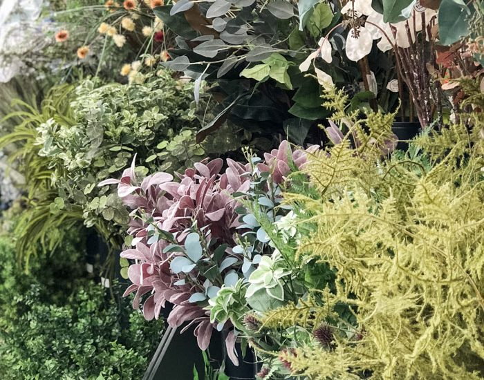 The faux greenery and green lamb's ear can't be beat at Hobby Lobby! Grab them when they are on sale for 50% off!