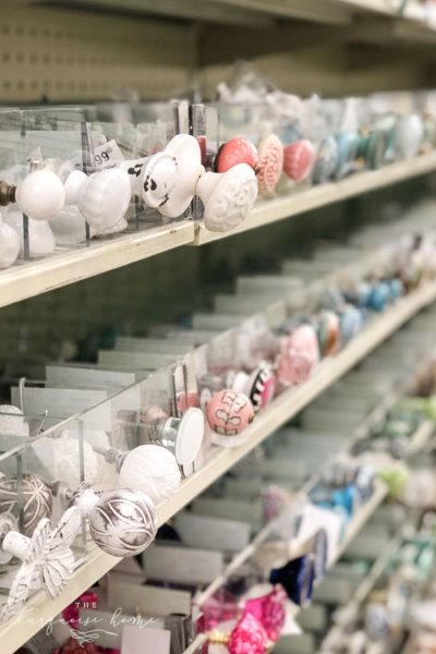The knobs are gorgeous at plentiful at Hobby Lobby.