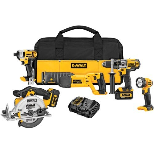 DeWalt 5 Tool Kit