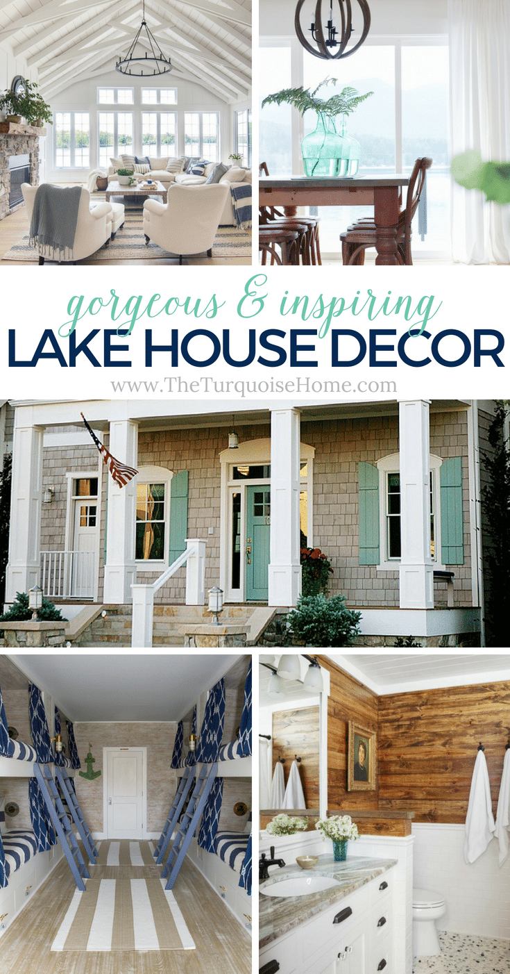 Beautiful Lake House Decor {inspiration}