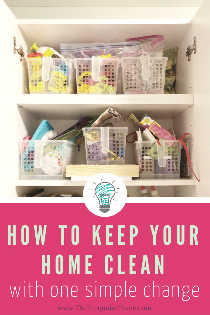 How to Keep Your Home Clean with One Simple Change!!
