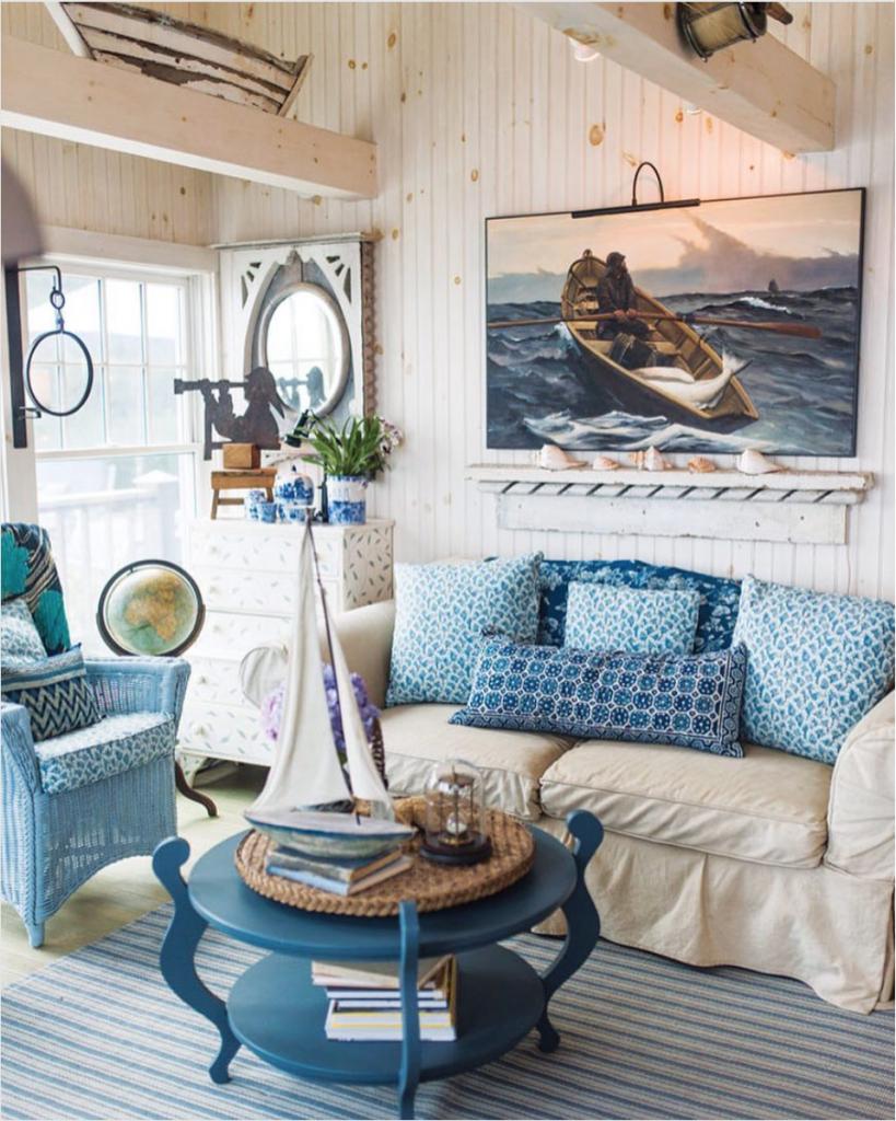 Beautiful Lake House Decor {inspiration} | The Turquoise Home
