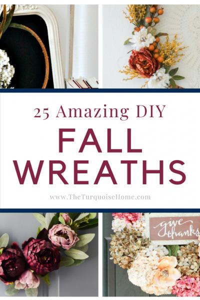 25 Amazing DIY Fall Wreaths