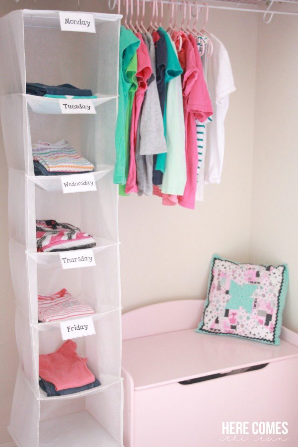 Back-to-school Clothes Organizing System