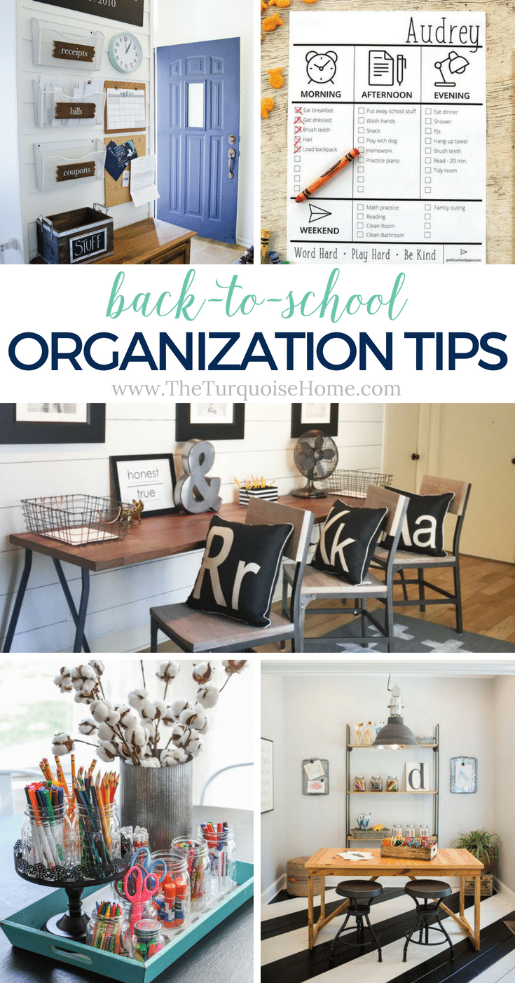 Back-to-School Organization Tips for Parents