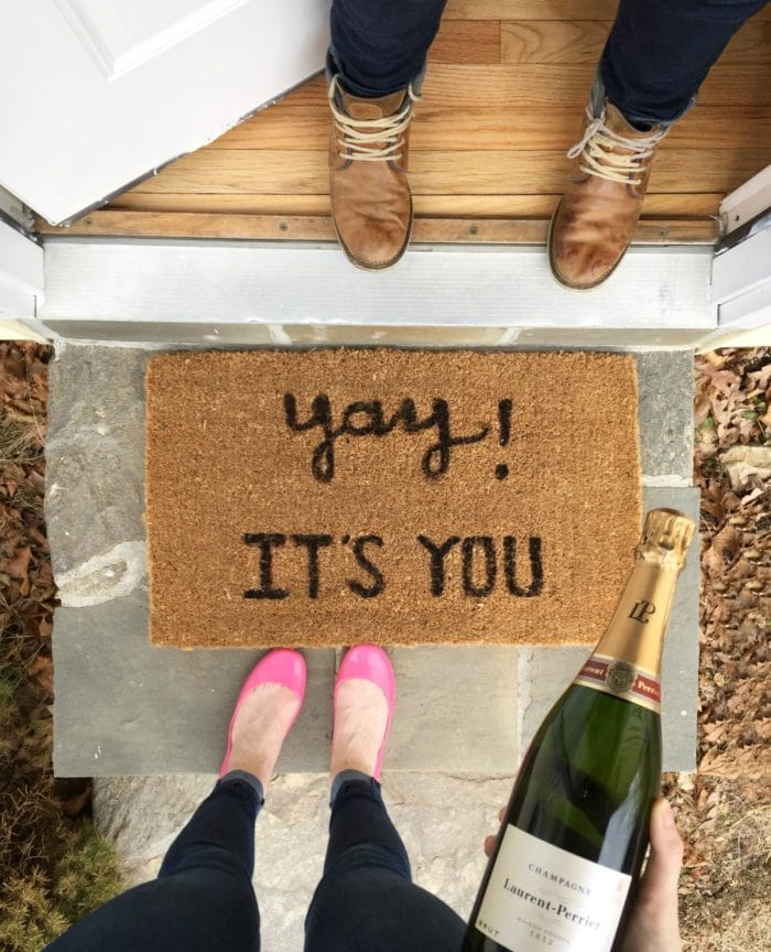 Yay! It's You Doormat