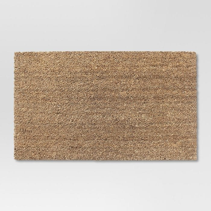 Plain Coir Doormat to Make Your Own!