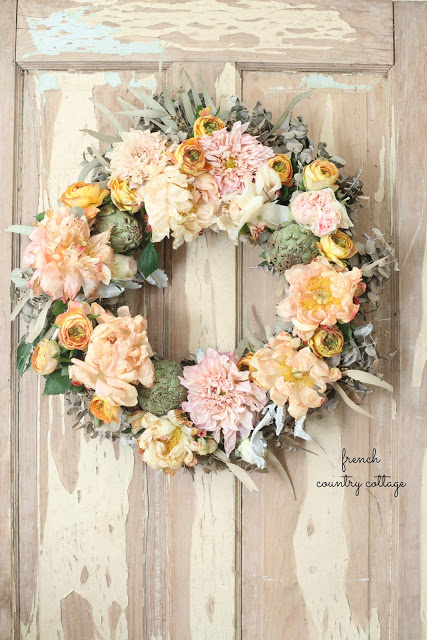 Floral Eucalyptus Fall Wreath