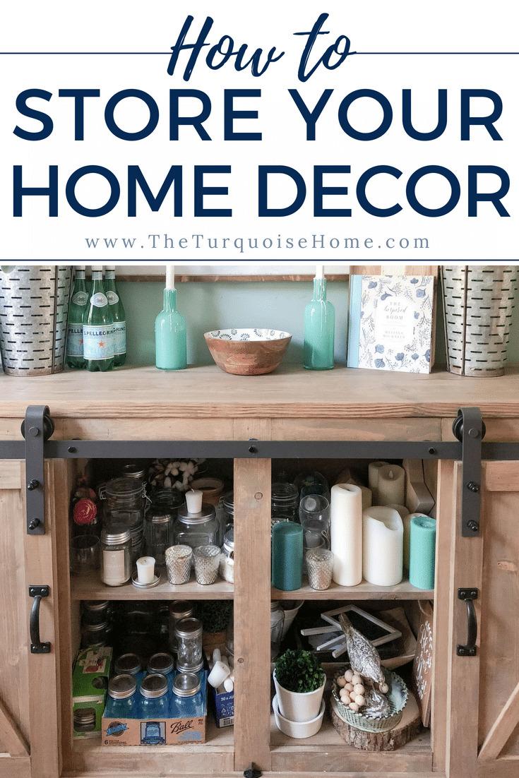 Tips for storing home decor!