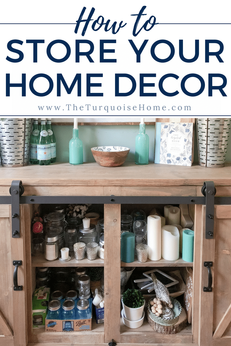 Tips for storing home decor!