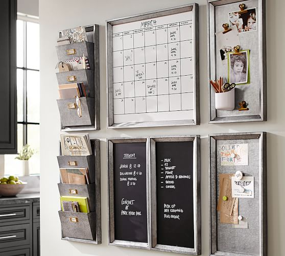 Gorgeous command center - perfect for back-to-school organization!