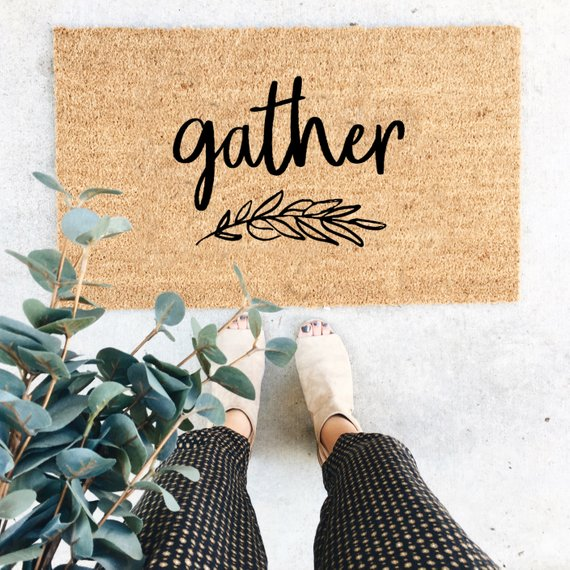 Gather Fall Doormat