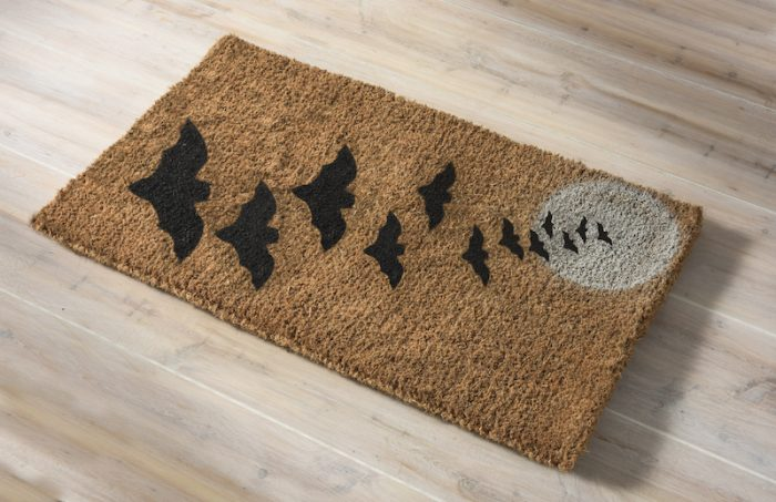 Halloween Bats Fall Doormat