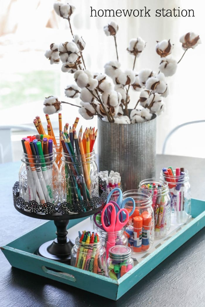 Create your own homework station!