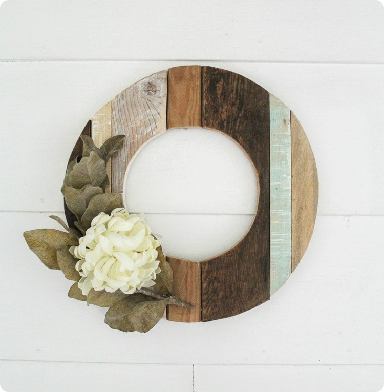 Rustic Wood Fall Wreath