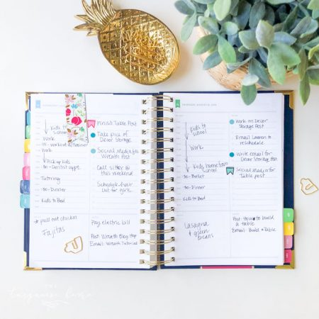 Emily Ley Simplified Planner Review: How I Use it and my Favorite Hack!