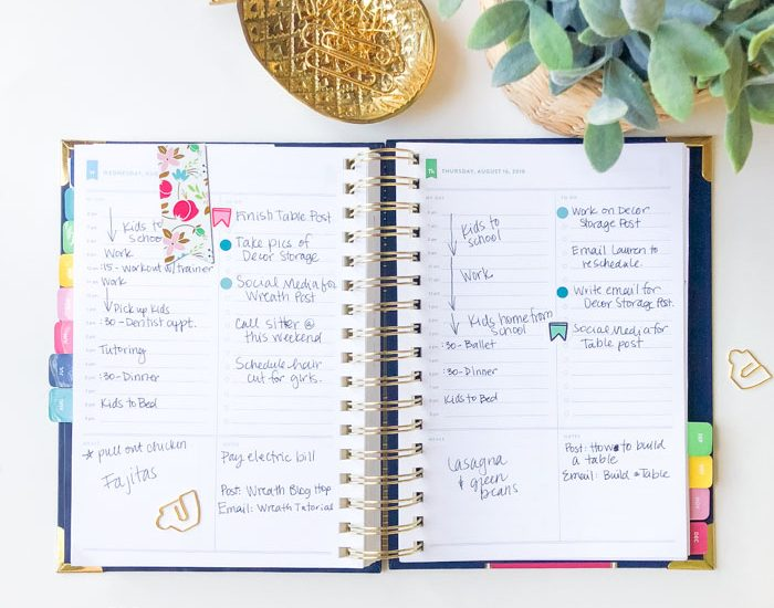 How to use the Emily Ley Simplified Planner daily pages ...