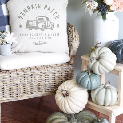 My Fall Kitchen Pumpkin Decor