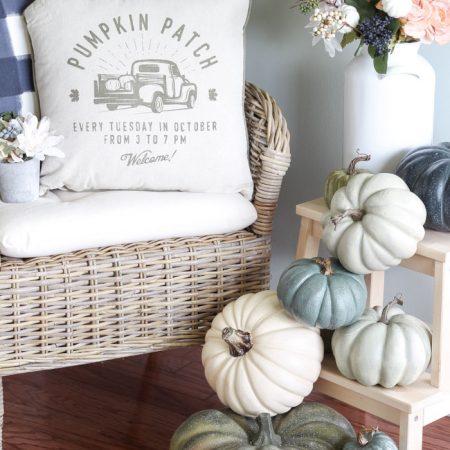 My Fall Kitchen Pumpkin Decor