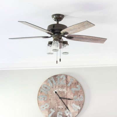 Farmhouse Ceiling Fans We Love!