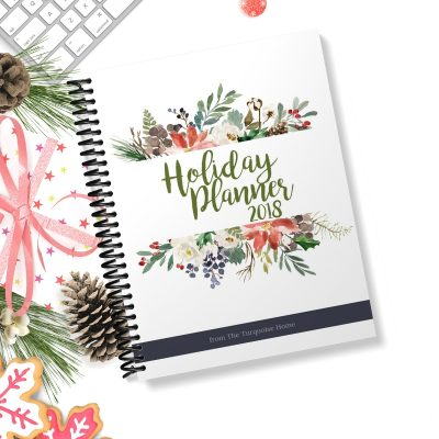 2018 Holiday Planner | Set down the stress this Christmas and make a plan to be intentional and enjoy the holidays!