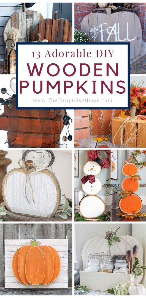 DIY Wooden Pumpkin Projects for Any Budget!